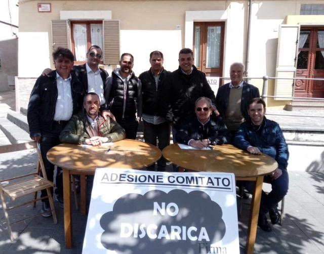 Comitato No Discarica: Raccolta firme