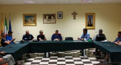 La riunione tenutesi l'8 agosto 2017