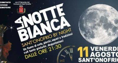 NOTTE BIANCA SONOFRIO 2017