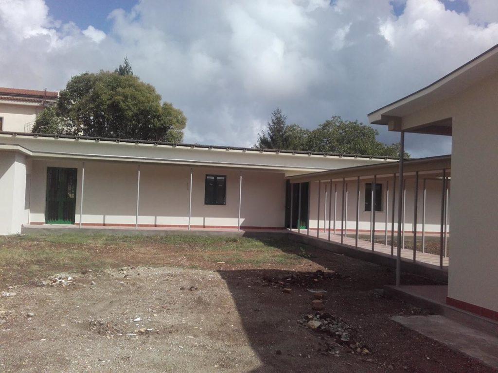 L'edificio di via Del Signore adibito a scuola dell'infanzia