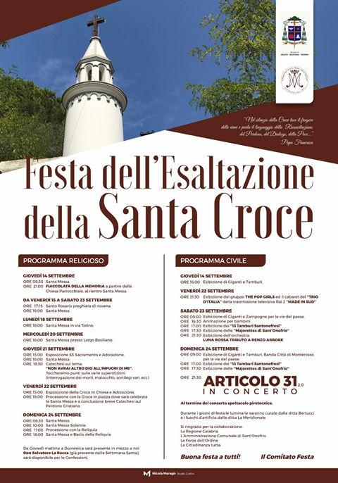 programma festa s croce 2017