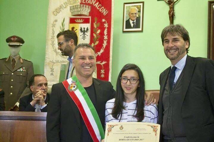(Sindaco Solano, Mariateresa Sganga ed Enzo Morelli